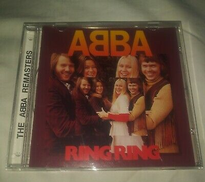 L New ABBA - Ring Ring CD - Reissued Original Recording 1973 The Abba Remasters