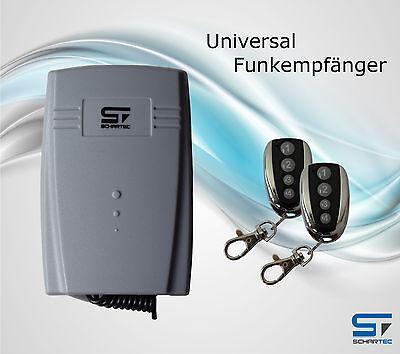 Universal Funkempfänger Garagentorantrieb + Handsender Funk Empfänger Garagentor