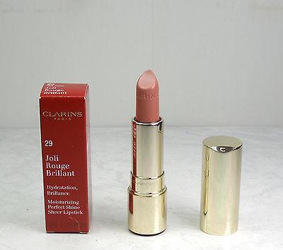 Clarins Joli Rouge Brillant Moist Perfect Shine Sheer  Lipstick 29 Tea Rose