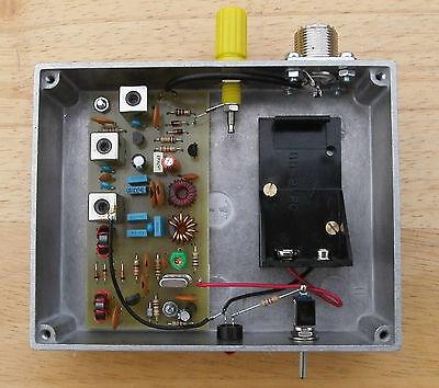 VLF Converter, 5kHz to 500kHz, PCB & hardware kit, prepared in Dorset UK