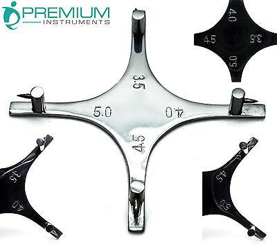 Dental Orthodontics Height Measuring Boone Gauge Premium Instruments