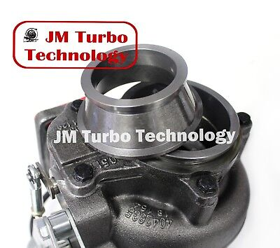 T3T4 Turbo Exhaust Downpipe V-Band Adapter For Dodge Ram HX35 / HX40 Turbo for sale  Alhambra