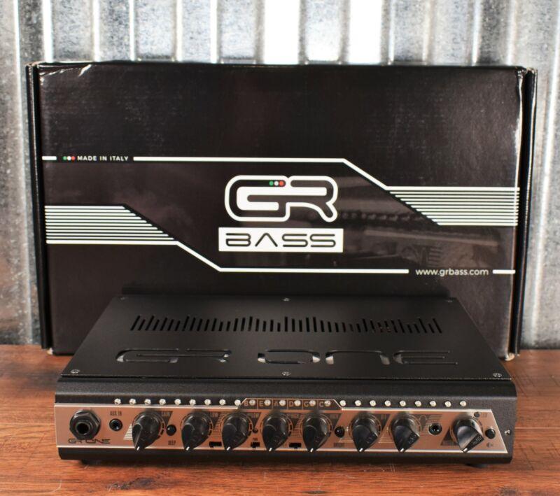 GR Bass One 350 Compact Lightweight 350 Watt Bass Amp Head with Tuner Black