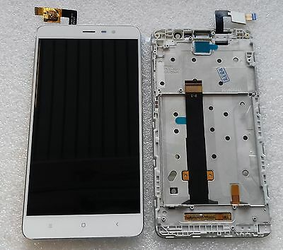 Pantalla Full LCD Unidad Completa Táctil con Marcos Flex Xiaomi Redmi Note 3 segunda mano  Embacar hacia Argentina