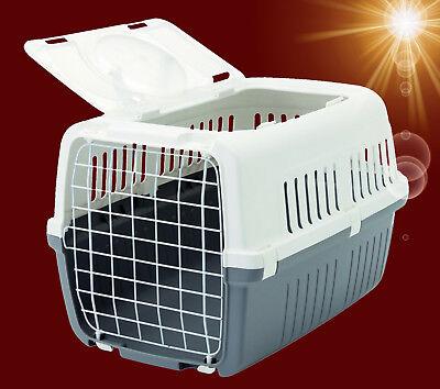 Hunde Katze Nager ❤️ AUFKLAPPBARE TRANSPORTBOX ❤️ Reise Auto Kennel