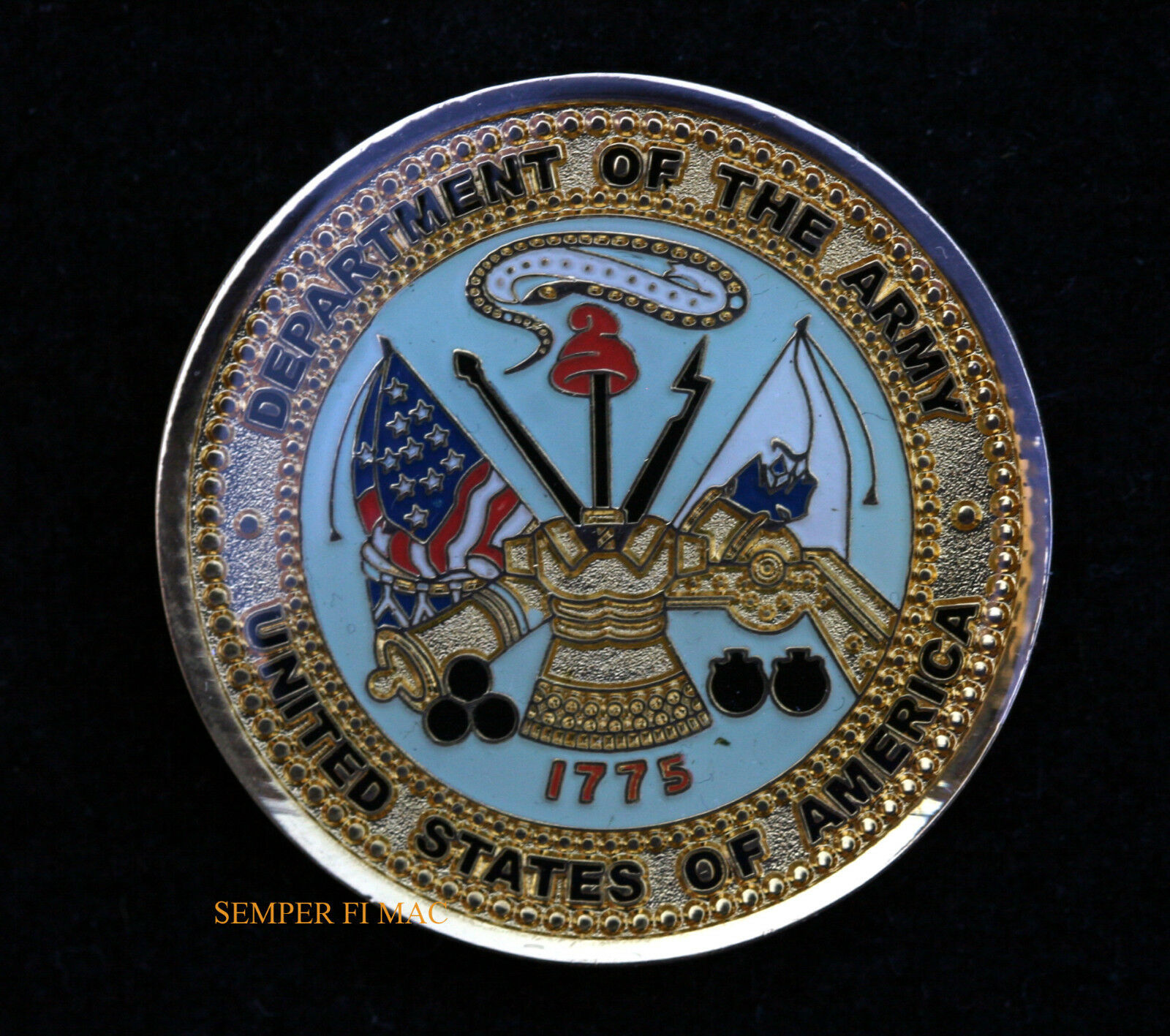 Details about GRADUATION GIFT BASIC TRAINING US ARMY CHALLENGE COIN CAV BOOT CAMP PIN UP WOW