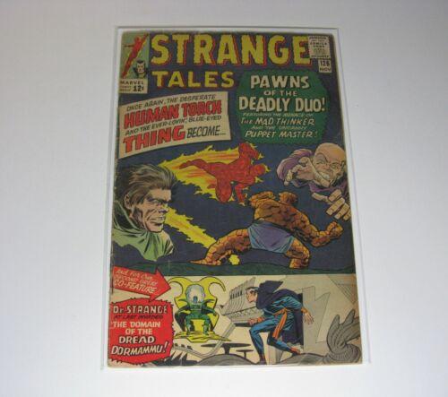 STRANGE TALES #126 (1st DORMAMMU, 1st CLEA) FN