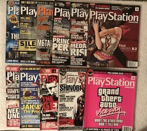 WWE WWF PLAYSTATION VIDEO GAME MAGAZINES