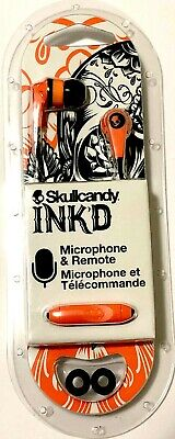 Skullcandy INK'D 2 In-Ear Earbud/Headphone-Sunset/Black w/Mic1Model#:S2IKDY-L681 for sale  Shipping to India
