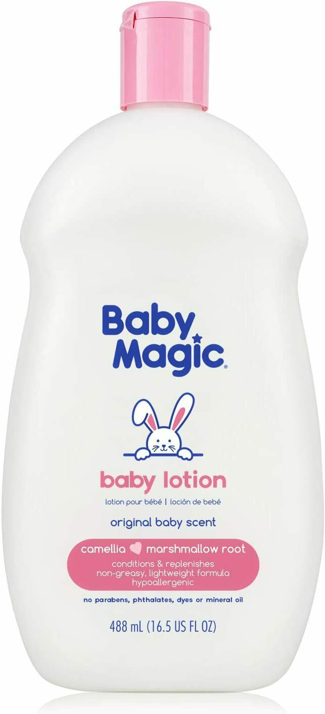 Baby Lotion With Original Baby Scent Camellia Oil  Marshmal