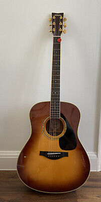 Yamaha LL6 SB Sunburst Acoustic Guitar Excellent Condition Original Hardcase