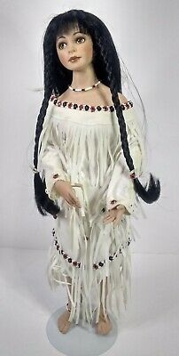 Swirling Waters Native American doll 18