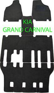 Kia Grand Carnival Car Floor Mats Kit 2006 - 2014 (LWB)