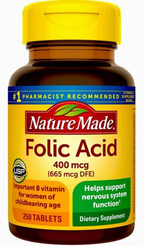 #1 Mejores Pastillas Acido Folico Para Niños Hombres Mujeres Embarazadas Natural