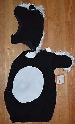 Pottery Barn Baby Kids Halloween Costume Skunk Size: 2T - 3T 2 or 3 #6 - Infant Skunk Halloween Costumes