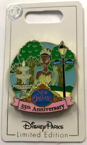 Disneyland 2021 New Orleans 55th Anniversary Square Princess Tiana LE Pin