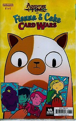 Adventure Time  1 Of 6 Fionna   Cake Card Wars Sealed In Plastic Baggie