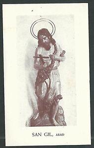 Estampa-antigua-de-San-Gil-andachtsbild-santino-holy-card-santini