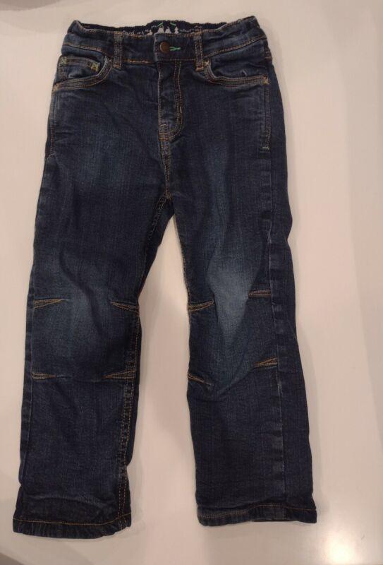 Frugi boys lined jeans 4-5