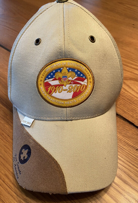 Boy Scouts Of America 1910-2010 Hat Limited Edition 100 Years Of Scouting