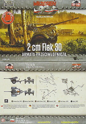 2 cm Flak 30, 2 Stück, First To Fight, 1/72 Plastikmodellbausatz ,NEU,