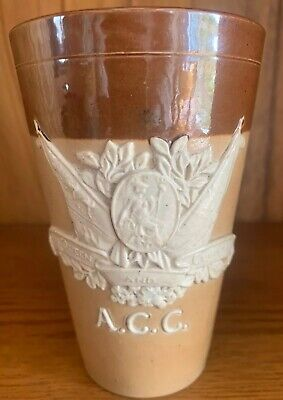 Doulton Lambeth ACC For Queen And Country Victoria Jubilee Commemorative Beaker segunda mano  Embacar hacia Argentina