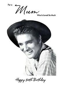 Personalised-A5-Elvis-Presley-Birthday-Card-Any-Relation-Age-Mum-Dad-Wife-Granda