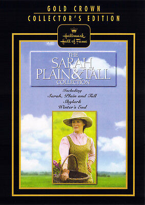 SARAH, PLAIN AND TALL TRILOGY (DVD, 1999, 3-Disc Set, Collectors Edition) - NEW -