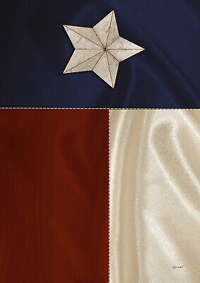 Toland Lone Star Flag 12.5 x 18 Texas State Red White Blue Garden -