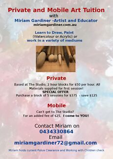 ART TUITION all ages! Midvale Mundaring Area Preview