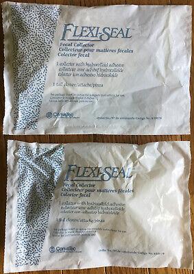 Convatec Flexi-seal Fecal Collector W Hydrocolloid Adhesive 2- Count