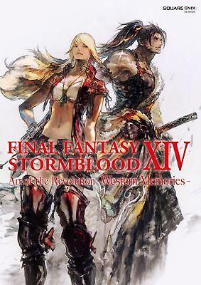 Final Fantasy XIV Stormblood The Art of the Revolution - Western Memorie Artbook