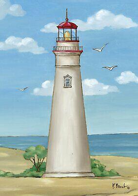 Toland Marblehead Lighthouse Garden Flag