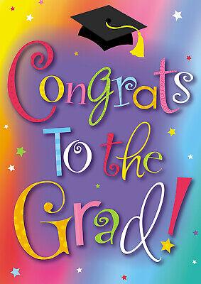 Toland Congrats Grad 12.5 x 18 Graduation Celebration Garden Flag - Graduation Garden Flag