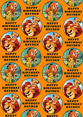 The Lion King Personalised Gift Wrap - Disney's The Lion King Wrapping Paper - Disney Wrapping Paper
