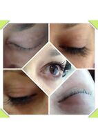 Eyelash extensions, classic singles from $75