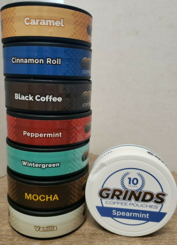 8 Container Sample Pack of Grinds Coffee Pouches as Seen on Shark Tank New