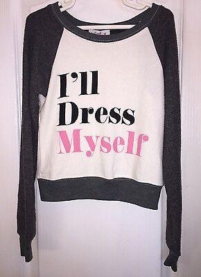 Kinder I'Ll Kleid Myself Langarm Hemd Top Mädchen 4 (Couture-kinder Kleider)