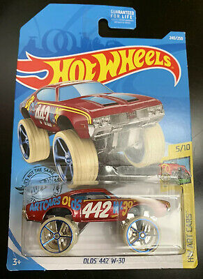 Hot Wheels | 2019 HW Art Cars - Olds 442 W-30 240/250 | New
