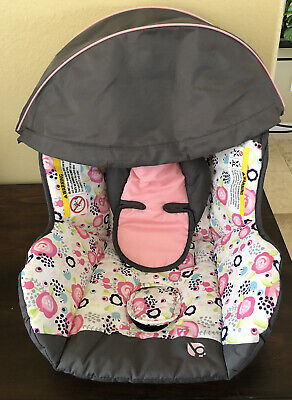 Baby Trend Flex Loc Infant Car Seat Cover, Headrest  & Canopy Replacement Part
