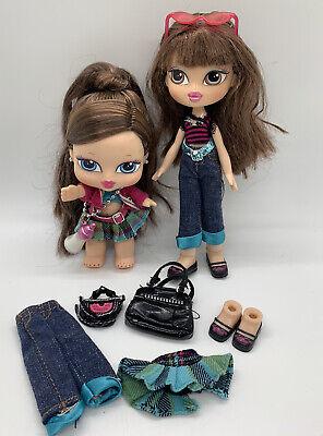 Bratz 1st Ever Babyz Sisterz Kidz Kiani & Lilani Doll Set Plus Extra Clothes