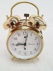 Sternreiter Double Bell Alarm Wind-Up Clock Serbia,