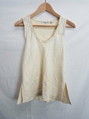 Helmut Lang Cream Viscose Camisole S