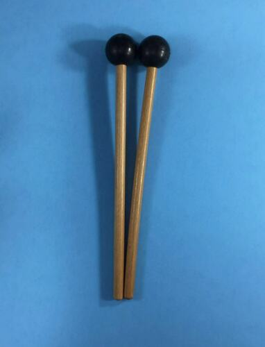 WuYou 8 inch Tongue Drum Handpan mallets Drum Sticks w/round rubber tip 2 colors