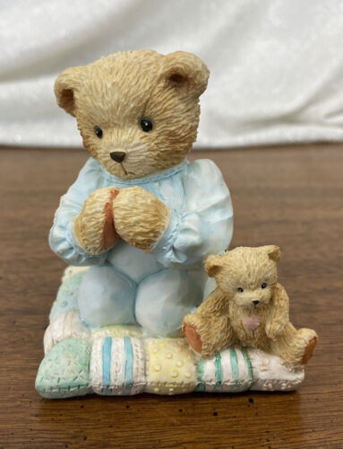 """Patrick """"Thank You For A Friend That's True"""" 1992 Cherished Teddies Figurine"""