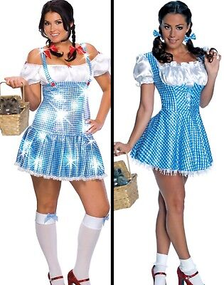 NEW! Dorothy Women's Adult Costume Wizard of Oz Halloween Fancy Dress & - Halloween Costume Dorothy Wizard Of Oz