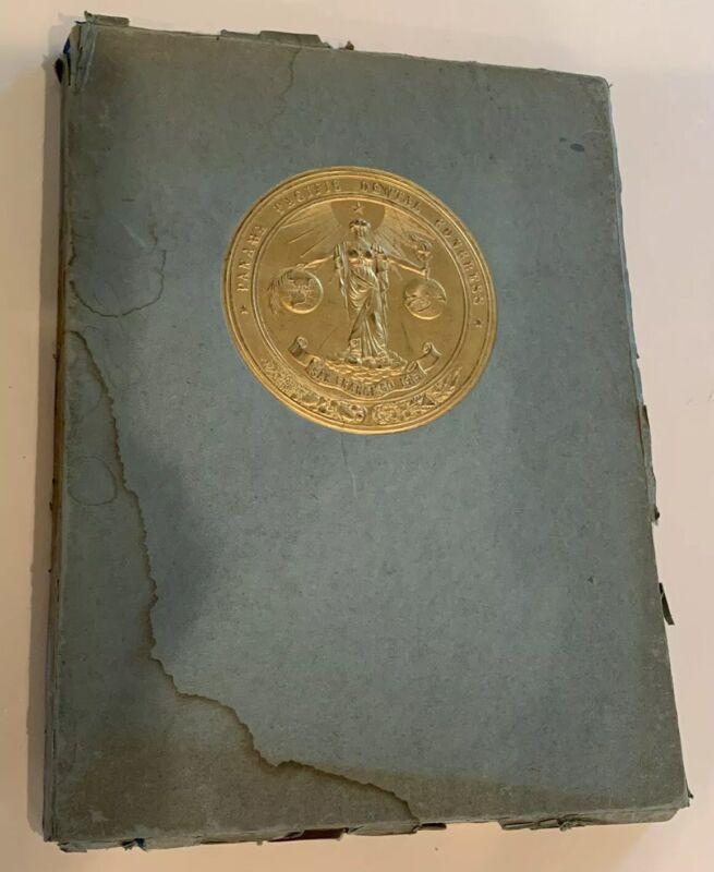 Rare Original Antique 1915 Panama Pacific Dental Congress San Francisco  Book