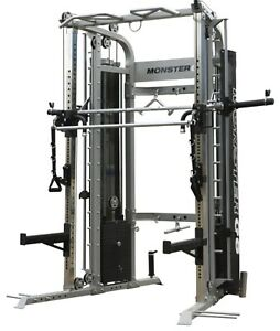 🔥LAST ONE🔥 DEMO MODEL MONSTER G6 SMITH/CABLE MACHINE/POWER RACK