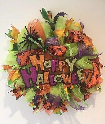 Handcrafted Halloween Decorative Wreath For Door/Wall hanging