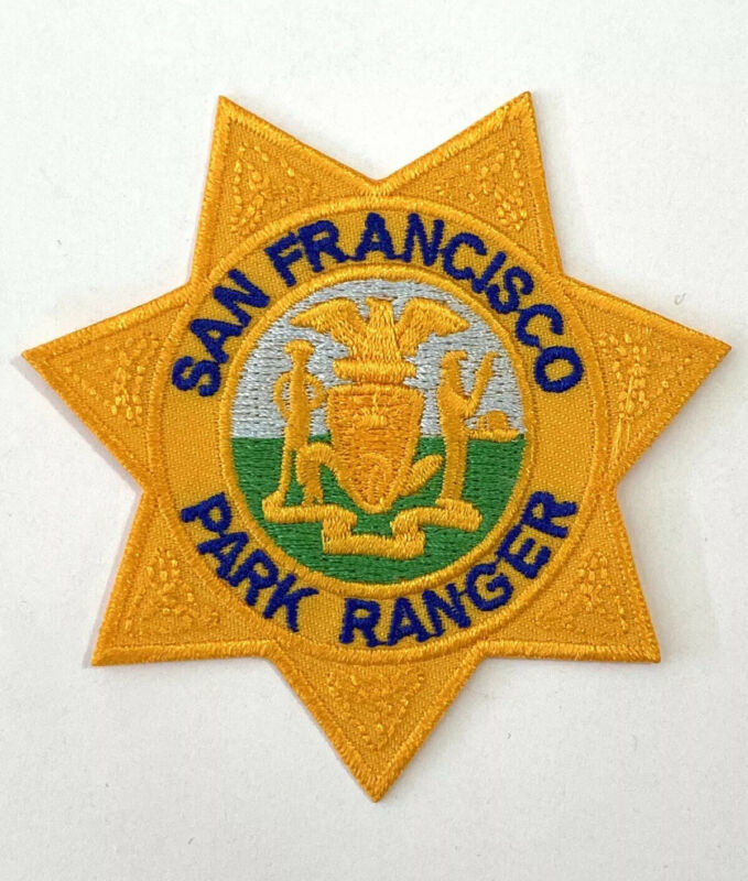 San Francisco Park Ranger Patch California Sheriff Police Brand New